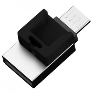 Флеш-память USB Silicon Power Mobile X20 16Gb Black USB 2.0 + OTG SP016GBUF2X20V1K