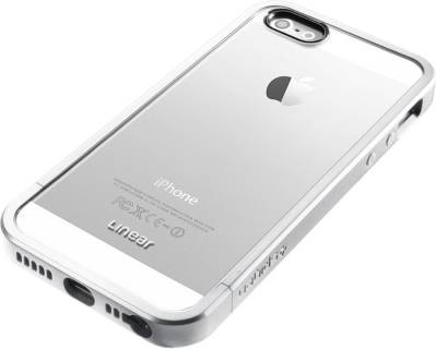 SGP Чохол + бампер iPhone 5 Case Linear Crystal Series Satin Silver SGP10046