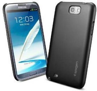 SGP Case Ultrathin Air series Smooth Black for Galaxy Note2 SGP10078