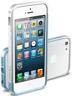 SGP Case Linear EX Slim Metal Series Metal Blue for iPhone 5 SGP10081