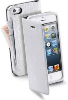 Cellular Line Book Wallet iPhone 5 White BOOKWALLIPHONE5W