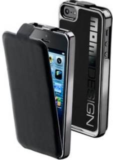 Cellular Line MOMO DESIGN iPhone 5 Black MOMOCONVIPHONE5BK