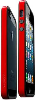 SPIGEN iPhone 5 Case Neo Hybrid EX Slim Vivid Series Dante Red SGP10026