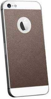 SGP Skin Guard Leather Brown Set Package for Apple iPhone 5 SGP09567