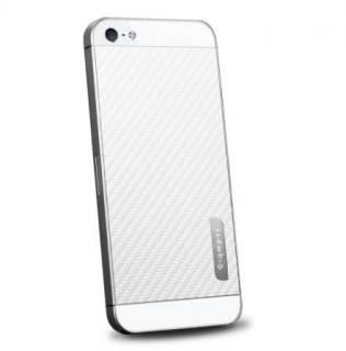 SGP Skin Guard Carbon White Set Package for Apple iPhone 5 SGP09569