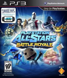 Sony PS3 AllStars Battle Royale/RUS