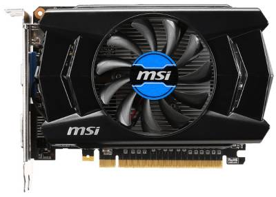 Видеокарта MSI GeForce GTX750Ti 2GB DDR5 V1 Overclocked N750Ti-2GD5/OCV1