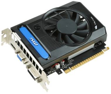 Видеокарта MSI GeForce GT730 2Gb N730K-2GD3/OC