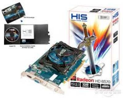 Видеокарта HIS Radeon HD 6570 1024MB H657FC1G