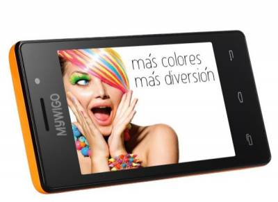 Смартфон MyWiGo 419 Turia Orange/Black