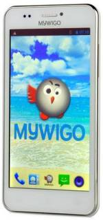 Смартфон MyWiGo 509 Wings GII White