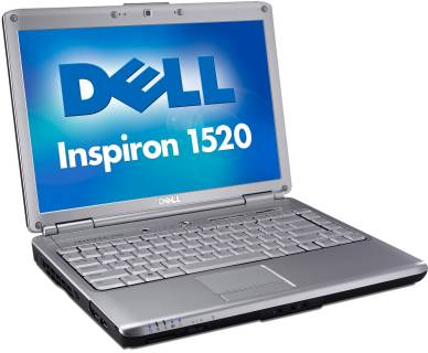 Ноутбук Dell Inspiron 1520 210-18172-Red/scra