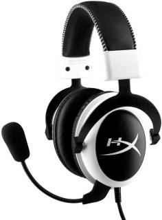 Наушники Kingston HyperX Cloud Gaming Headset White KHX-H3CLW