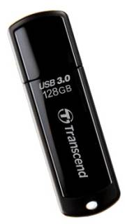 Флеш-память USB Transcend JetFlash 700 128GB USB 3.0 Black TS128GJF700