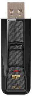 Флеш-память USB Silicon Power Blaze B50 64Gb Black USB 3.0 SP064GBUF3B50V1K
