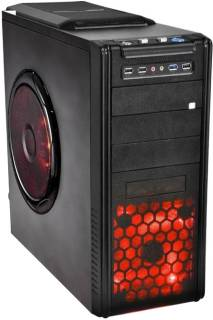 Корпус ProLogiX PBS-500W-12cm -A07B/7031 Black A07B/7031 Red