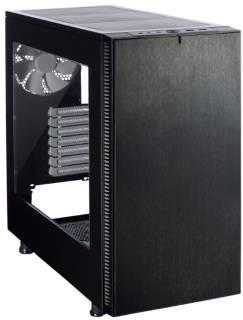 Корпус FRACTAL DESIGN Define S Black Window FD-CA-DEF-S-BK-W