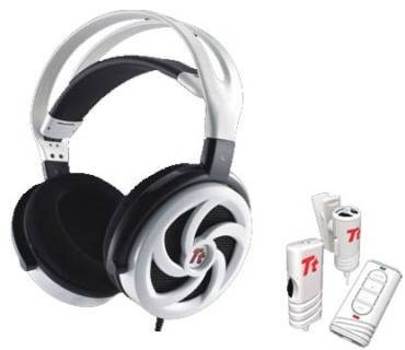 Наушники Thermaltake eSPORTS  SHOCK SPIN HD White HT-SKH006ECWH