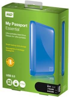 Внешний HDD Western Digital My Passport Essential WDBAAA5000ABL