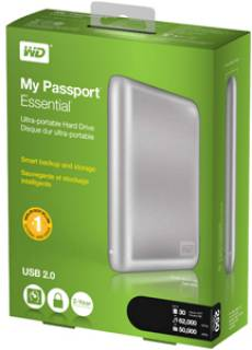 Внешний HDD Western Digital My Passport Essential WDBAAA5000ASL