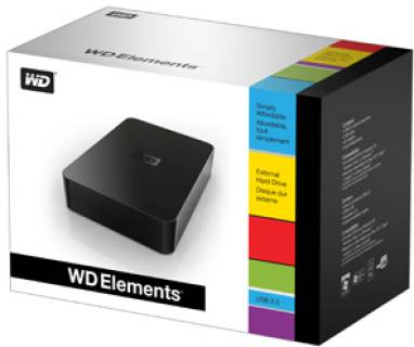 Внешний HDD Western Digital Elements Desktop WDBAAU0020HBK-EESN