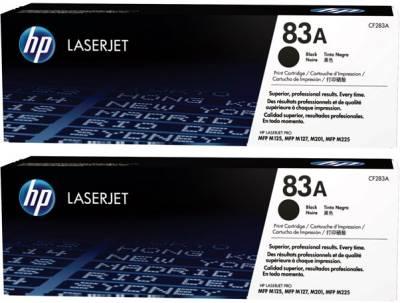 Картридж HP LJ  83A Black Dual Pack CF283AD