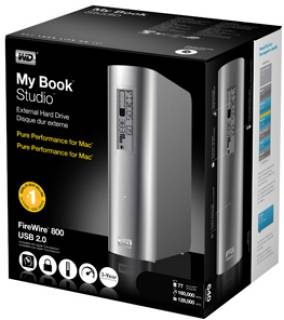 Внешний HDD Western Digital My Book Studio WDBAAJ0010HSL