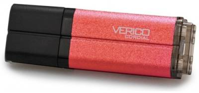 Флеш-память USB Verico Cordial 16Gb Red USB2.0 VP16-16GRV1E
