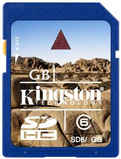 Карта памяти Kingston High-Capacity SD6/4GB