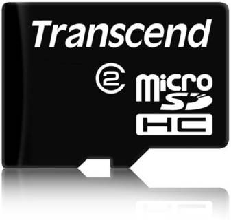 Карта памяти Transcend High-Capacity TS8GUSDC2