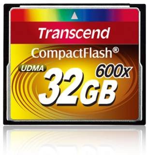 Карта памяти Transcend Extreme Speed 600 TS32GCF600