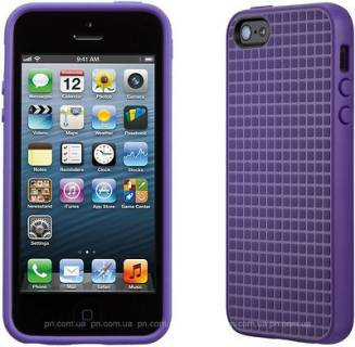 Speck iPhone 5 PixelSkin HD Grape Purple SP-SPK-A1584