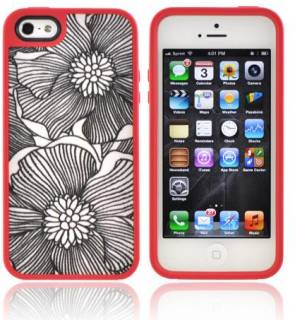 Speck iPhone 5 FabShell FreshBloom Coral Pink/Black SP-SPK-A1596