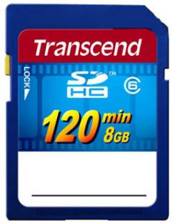 Карта памяти Transcend HD Video TS8GSDHC6V