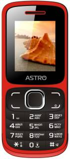 Смартфон Astro A177 RX Red Black