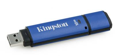 Флеш-память USB Kingston DataTraveler Vault Privacy Edition DTVP/16GB