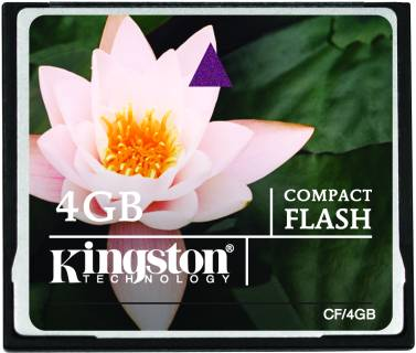 Карта памяти Kingston Standard CF/4GB