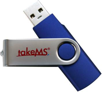Флеш-память USB TakeMS Mini Rubber Blue TMS16GUMIR1R01