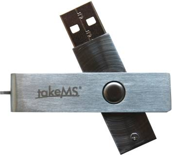 Флеш-память USB TakeMS Mini Metal TMS8GUMIM1R05