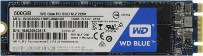 Внутренний HDD/SSD Western Digital BLUE PC SSD 500GB M.2 2280 WDS500G1B0B