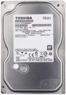 Внутренний HDD/SSD Toshiba Video Stream 500GB 5700rpm 32Mb DT01ABA050V