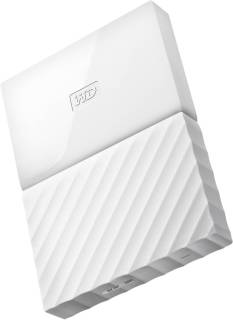 Внешний HDD Western Digital My Passport 4TB WHITE USB 3.0 WDBYFT0040BWT-WESN