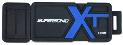 Флеш-память USB Patriot Supersonic Boost XT 8Gb Black USB 3.0 PEF8GSBUSB