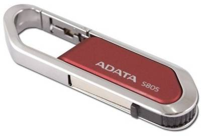 Флеш-память USB A-Data S805 32Gb color box red USB2.0 AS805-32G-RRD