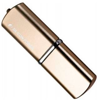 Флеш-память USB Silicon Power LUX mini 720 8GB Bronze USB 2.0 SP008GBUF2720V1Z
