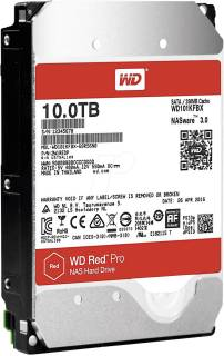 Внутренний HDD/SSD Western Digital Red Pro 10Tb 7200rpm 128Mb WD101KFBX