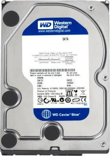 Внутренний HDD/SSD Western Digital Caviar Blue 160Gb 7200rpm 8mb WD1600AAJS