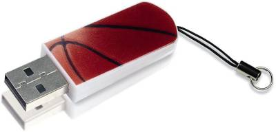 Флеш-память USB Verbatim Store N Go Mini Basketball 16Gb USB 2.0 98679