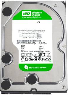 Внутренний HDD/SSD Western Digital Caviar Green WD20EARS