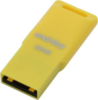 Флеш-память USB Smartbuy Funky series 32Gb Yellow USB 2.0 SB32GBFU-Y